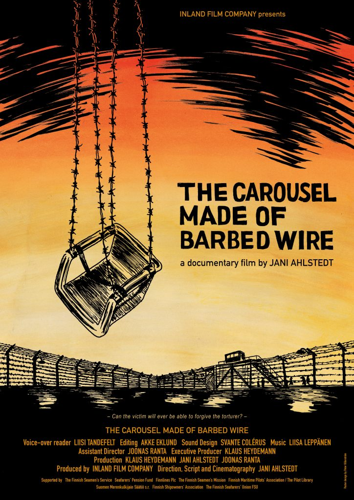 The Carousel Made of Barbed Wire - Official Poster A3